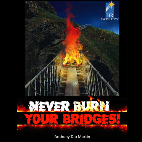 Never Burn Your Bridge by Anthony Dio Martin