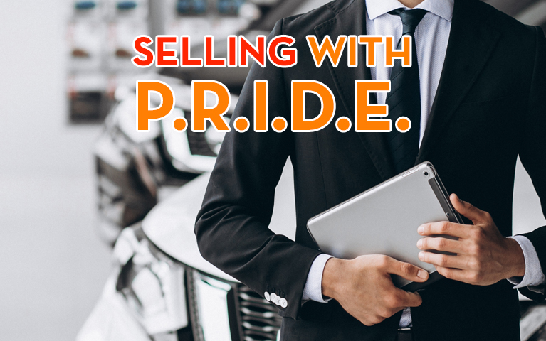 Selling with P.R.I.D.E.