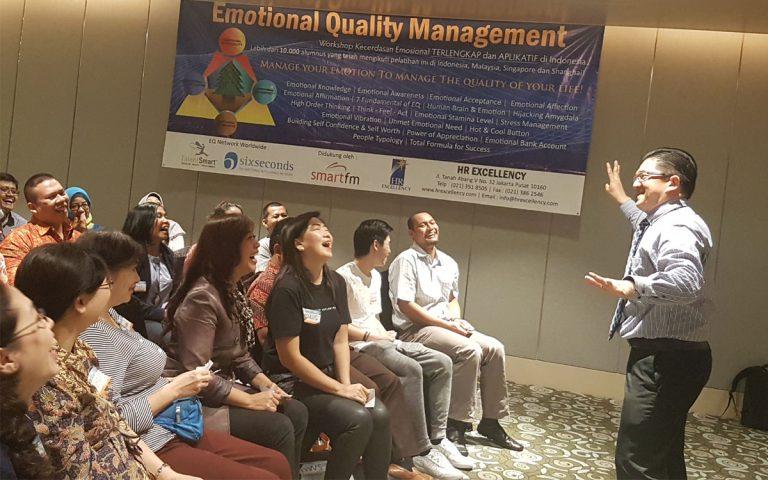 Emotional Quality Management HR Excellency Public Workshop Batch 57, Jakarta 18-19 Mei 2017