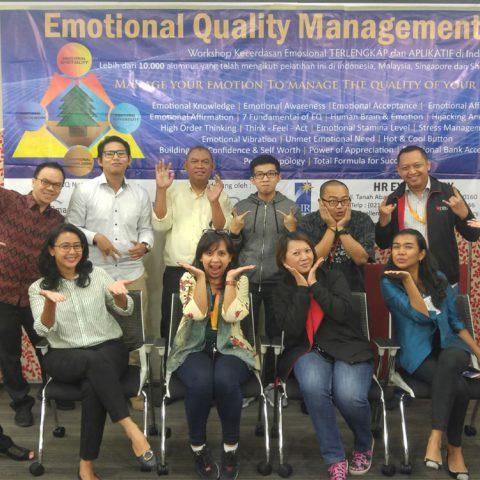 Emotional Quality Management Workshop Bank DBS, Jakarta 8-9 Mei 2017 di DBS Tower, Jakarta