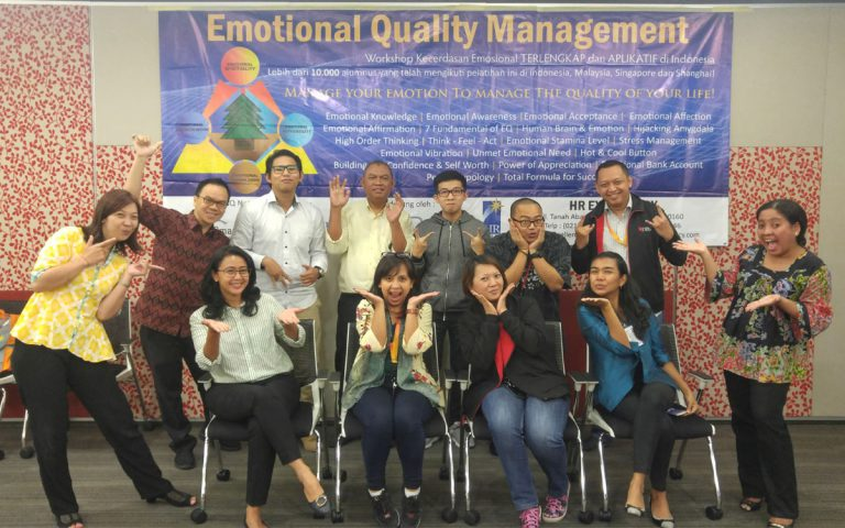 Emotional Quality Management Workshop Bank DBS, Jakarta 8-9 Mei 2017 di DBS Tower, Jakarta
