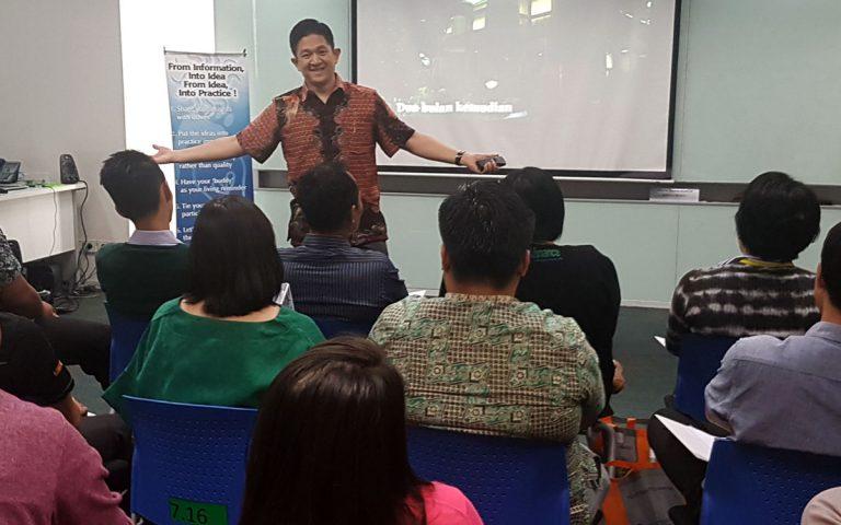 "Workshop 2 Hari ""EQ for Leader"" BCA Finance, Jakarta 16-17 Mei 2017"