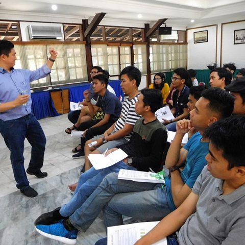 "Seminar ""EQ at Work"" untuk Tim MT (Managament Trainee) Group Ancol, 30 Juli 2017 di Pulau Bidadari"