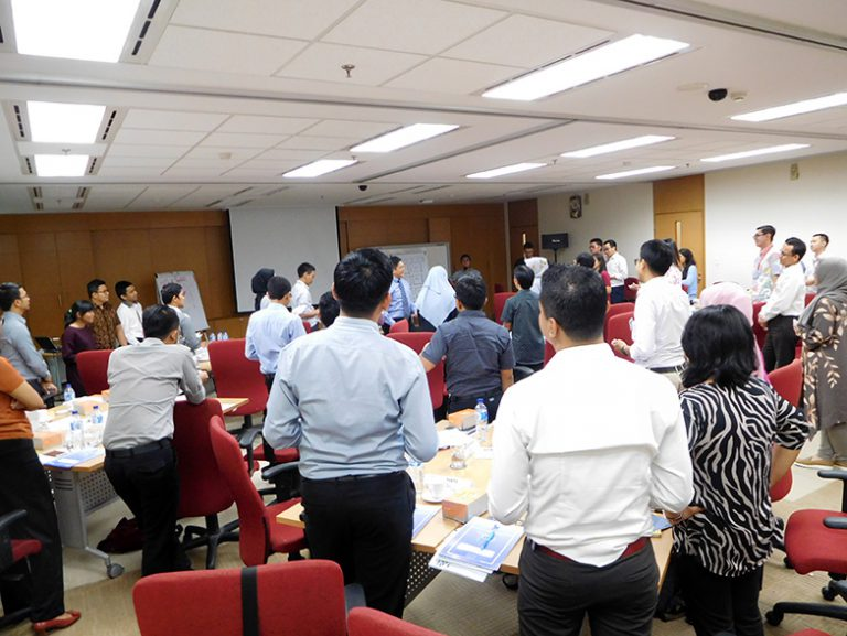 "SEMINAR ""EQ AT WORK FOR JUNIOR STAFF"" MITSUBISHI CORPORATION, 20 JULI 2017 DI SENTRA SENAYAN II, JAKARTA"