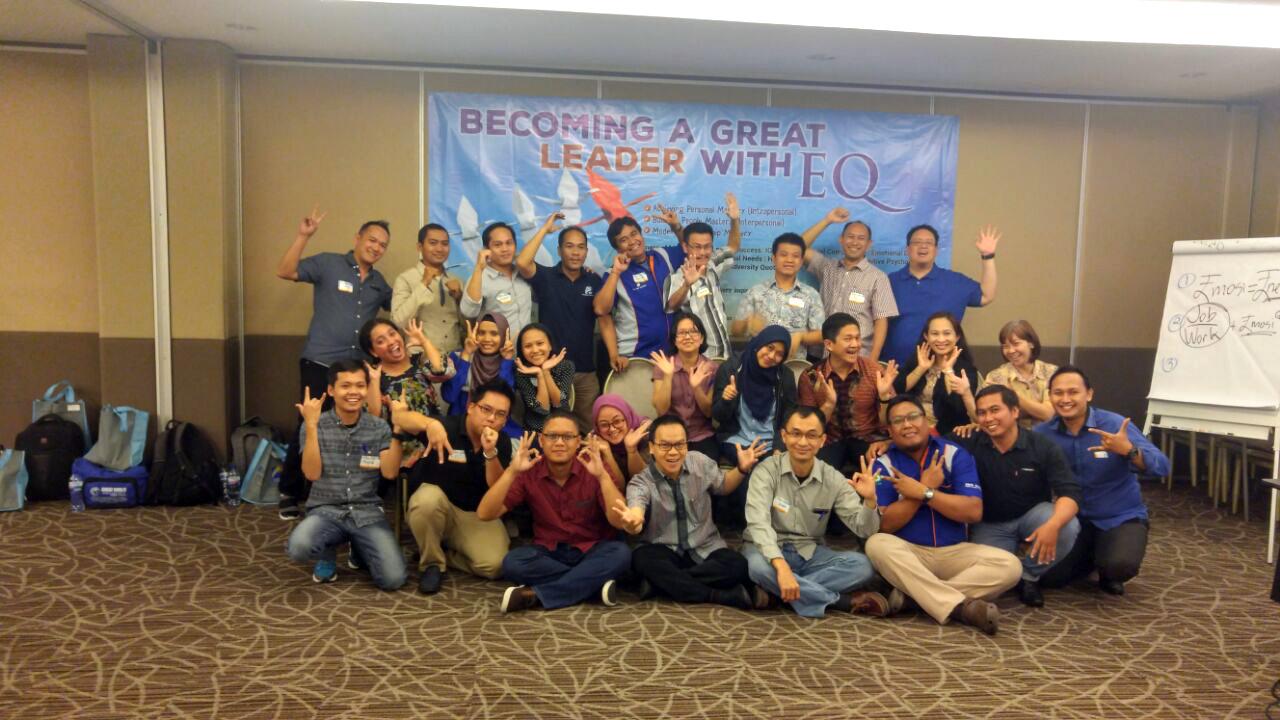 "Workshop 2 Hari ""Becoming A Great Leader with EQ"" PT Gunanusa Ekamandiri & Cubic Indonesia 27-28 Juli 2017 di Hotel Aston Sentul"