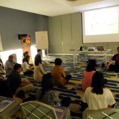 "Workshop 2 Hari ""Stress Management with EQ"" untuk Team Global Market Bank UOB, 22-23 Juli 2017 di Hotel Yello, Harmoni, Jakarta Pusat"