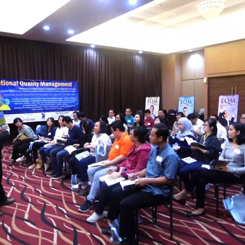 "Workshop ""Emotional Quality Management"" (EQ at Work) Kalbe Group, Rukun Senior Living Sentul 22-23 Agustus 2017"