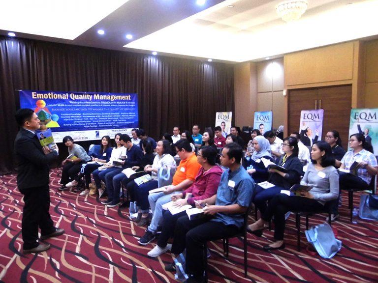 "Workshop ""Emotional Quality Management"" (EQ at Work) Kalbe Group, Rukun Senior Living Sentul 22-23 Agustus 2017"