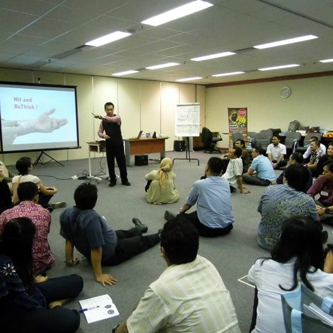 "Workshop 2 Hari ""Emotional Quality Management"" (Kecerdasan Emosional untuk Para Pemimpin) Mitsubishi Corporation, Ruang Training KTB Jakarta, 24-25 Agustus 2017"