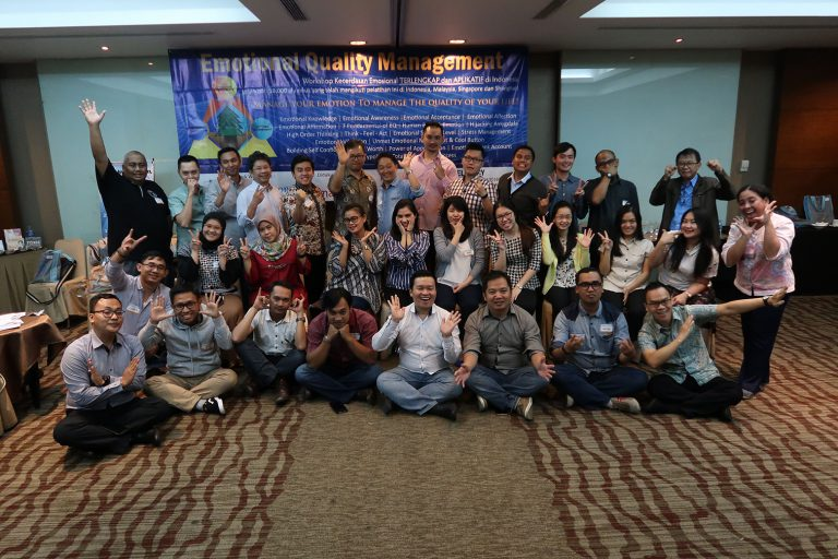 "Training & Workshop HR Excellency Public ""Emotional Quality Management"" (Kecerdasan Emosi) Angkatan 59, 20-21 November 2017 di Hotel Santika Premier Slipi, Jakarta"
