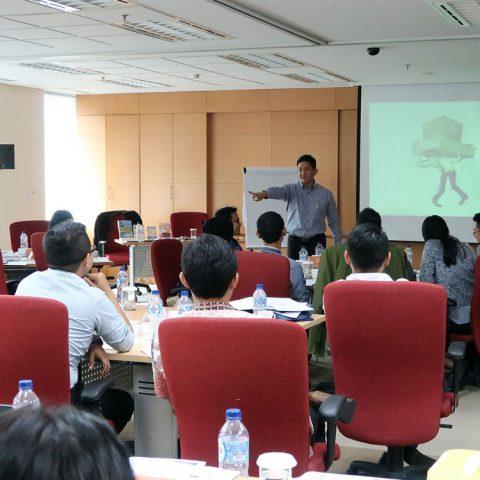 "Training ""EQ at Work"" for Junior Staff, Mitsubishi Corporations, 13 Desember 2017, Sentra Senayan II- Jakarta"
