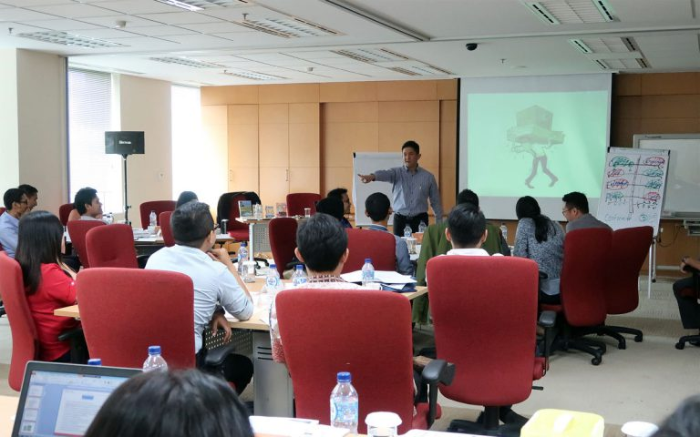 "Training ""EQ at Work"" for Junior Staff, Mitsubishi Corporations, 13 Desember 2017, Sentra Senayan II- Jakarta"