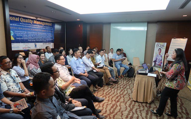 """Public Class """"Emotional Quality Management Workshop"""" Angkatan 60 Hotel Santika Premiere, 20-21 Maret 2018"""