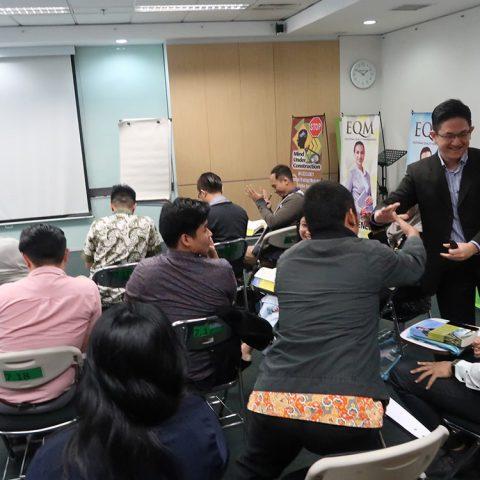 """Workshop """"EQ for Leader"""" BCA Finance, Jakarta 12-13 Maret 2018"""