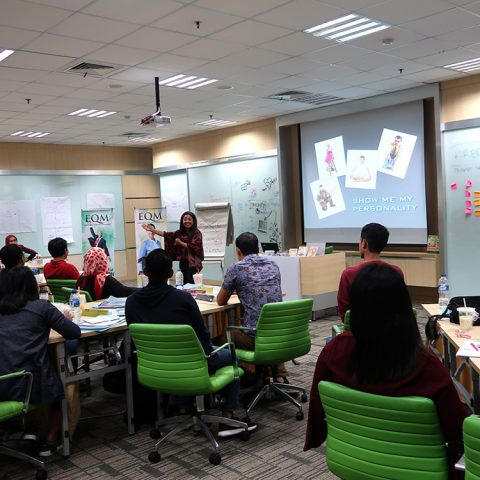 """EQ at Work"""" Kalbe Nutritional, 6 April 2018, KN Learning Center-Jakarta"""