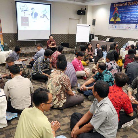 "EQ at Work"" PT Permata Hijau Group – Batch 9 di Royal Suit Condotel, Medan 20-21 April 2018"
