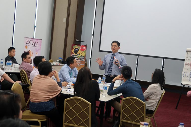 """EQ for Selling & At Work Workshop"" Alam Sutera, 25-26 April 2018, Synergy Building – Tangerang"