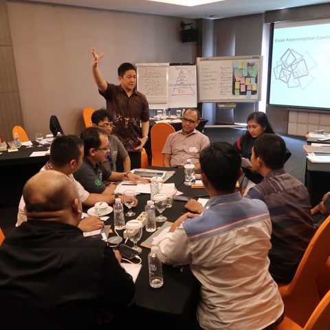 """New Leader Development Program"" for Assistant Manager PT Adient Automotive Indonesia, 28-29 April 2018, Hotel Harper, Purwakarta."