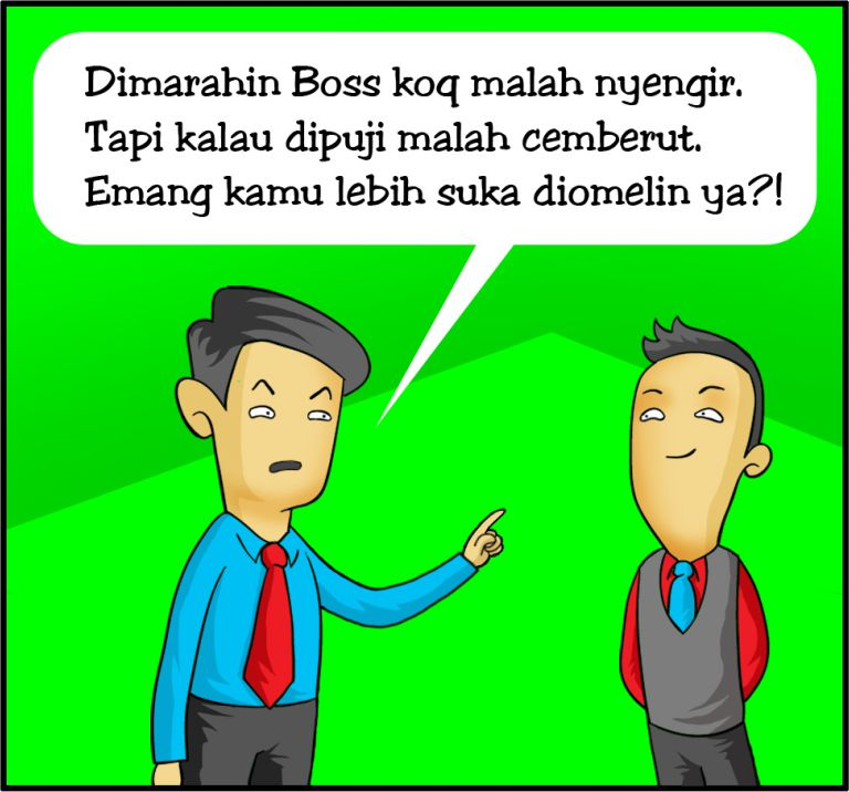 Marx in Corp Comic Series: Diomelin vs Dipuji