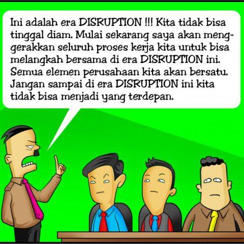 Marx in Corp Comic Series: Disruption