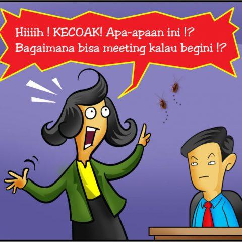 Marx in Corp Comic Series: Kecoak !