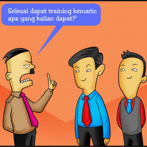 Marx in Corp Comic Series: Selesai Training