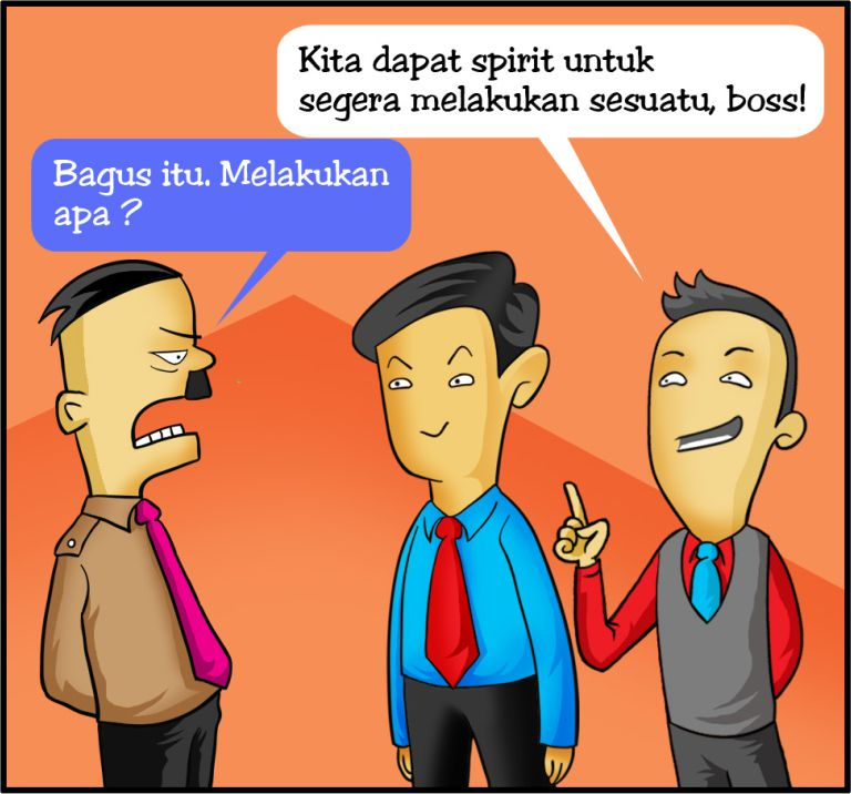 Marx in Corp Comic Series: Selesai Training