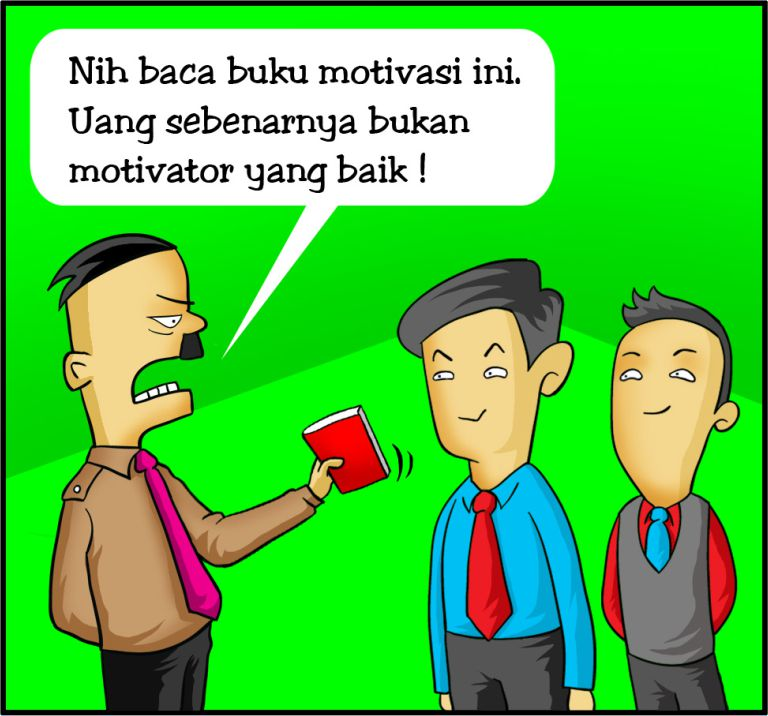 Marx in Corp Comic Series: Uang vs Buku Motivasi