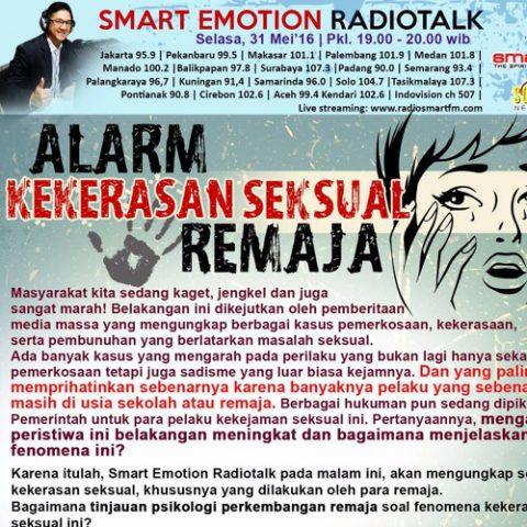 Smart Emotion: Alarm Kekerasan Seksual Remaja