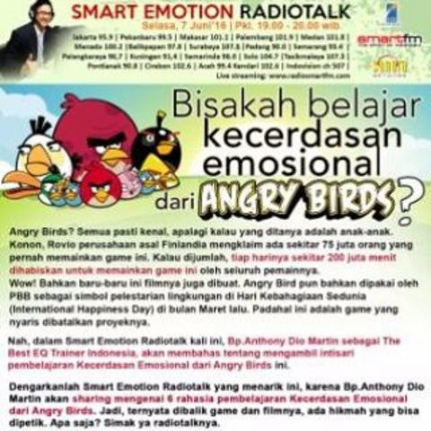 Smart Emotion: BELAJAR CERDAS EMOSI DARI ANGRY BIRDS