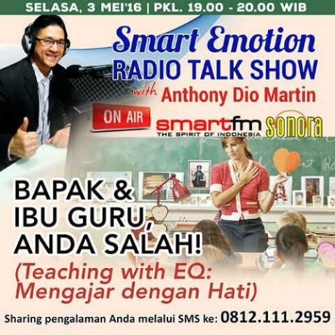 Smart Emotion: Bapak Ibu Guru Anda Salah!