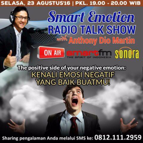 Smart Emotion: Kenali Emosi Negatif Yang Baik Buat Mu