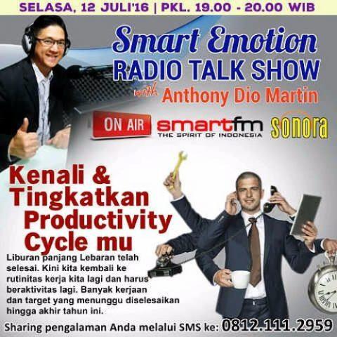 Smart Emotion: Kenali & Tingkatkan Productivity Cycle-mu
