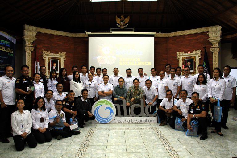 "Becoming A Star Employee for Service Excellence ""ITDC Angkatan I – III""  23-25 Juli 2018 di Kantor Pusat ITDC Nusa Dua Bali"