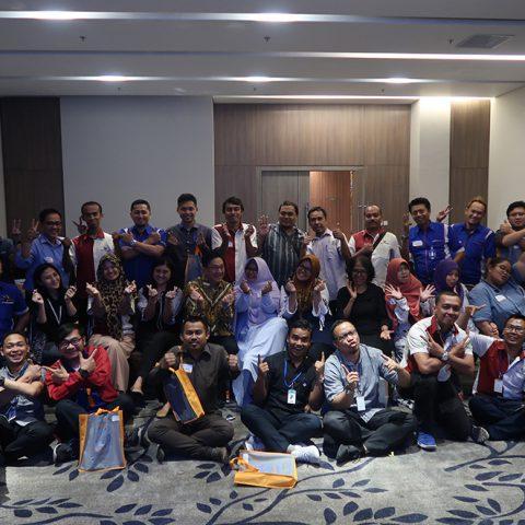 "Seminar Motivasi ""Becoming a STAR at Work"" PT Gunanusa Eramandiri, 13-14 Agustus 2018"