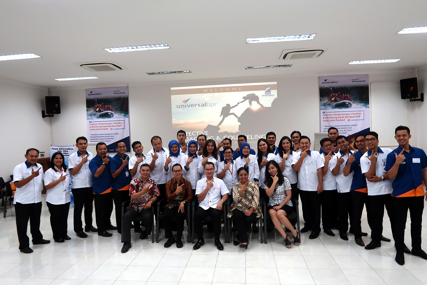 "Workshop ""Excellency Coaching Counseling for Leader"" BPR Universal, 20-21 Agustus 2018, Jakarta"