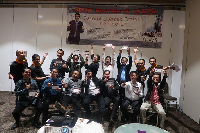 "Essential Licensed Trainer XXII ""MWS Indonesia"" 6-9 Agustus 2018 Grand Mercure-Jakarta"