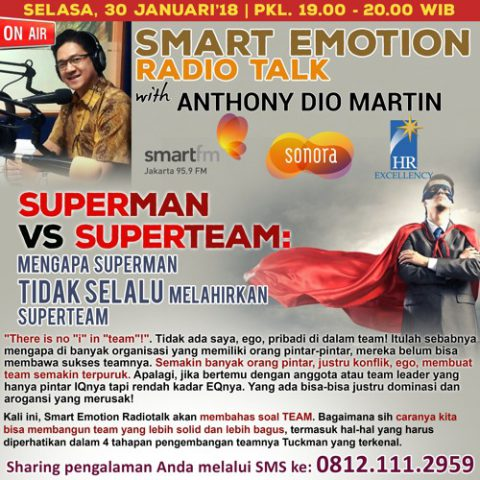 Smart Emotion: SUPERMAN VS SUPERTEAM