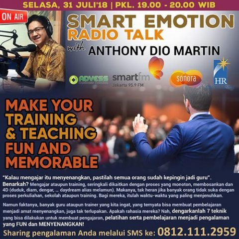 Smart Emotion: MAKE YOUR TRAINING & TEACHING FUN AND MEMORABLE