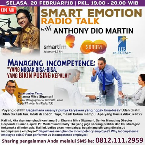 "Smart Emotion: ""Managing Incompetence"""