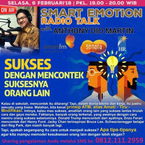 """Smart Emotion: """"Sukses dengan mencontek suksesnya orang lain"""""""