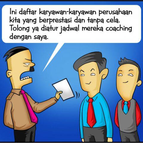 Marx in Corp Comic Series: Coaching