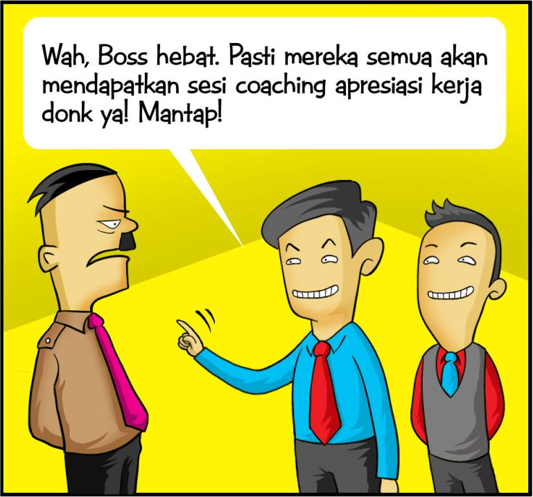 Marx in Corp Comic Series: Coaching