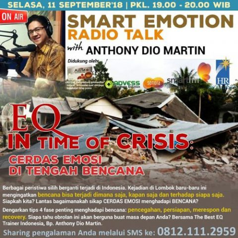 "Smart Emotion: ""EQ In Time of Crisis: CERDAS EMOSI DI TENGAH BENCANA."""