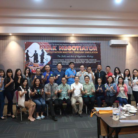 Training Peak Negotiator Permata Hijau Group, 24-25 Agustus 2018, Medan
