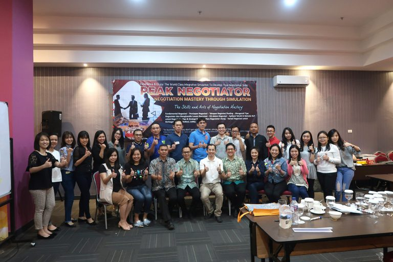 Training Peak Negotiator Permata Hijau Group, 24-25 Agustus 2018, Medan