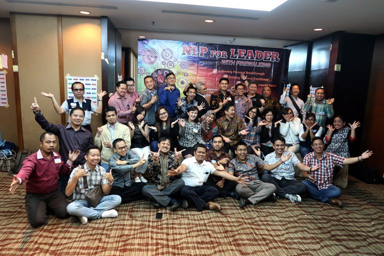 NLP for Leader with Firewalking Workshop, Hotel Santika Premiere Jakarta, 22-24 Oktober 2018