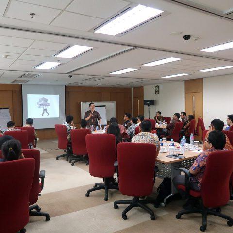 "Seminar ""EQ at Work"" Bagi Junior Staff Mitsubishi Group of Companies, 9 Oktober 2018"