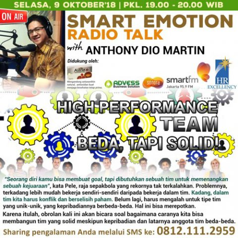 "Smart Emotion: ""HIGH PERFORMANCE TEAM: BEDA, TAPI SOLID!"""
