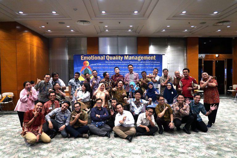 Emotional Quality Management Workshop Mitsubishi Corporation, Jakarta 7-8 November 2018